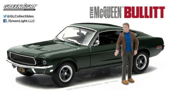 Greenlight 86433 1968 Ford Mustang GT Fastback- Bullit 1968