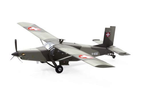 ACE 001604 V-632 Pilatus PC-6 Turbo Porter Swiss Air Force