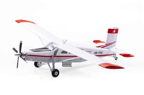 ACE 001606 Air-Glaciers Pilatus PC-6 Turbo Porter HB-FDU