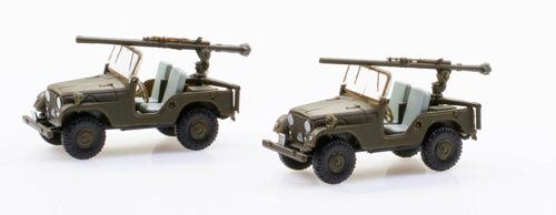 Swiss-Line 005103 Willys Overland Jeep CJ PAK-Version