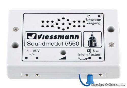 Viessmann 5560 Soundmodul Kirchenglocken