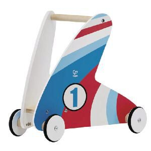Hape E0377A Laufwagen mit Racing Stripes