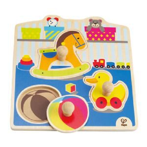 Hape E1301A Knopfpuzzle Mein Spielzeug