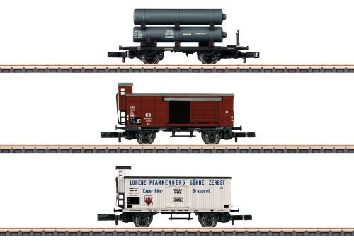 Märklin 86604 Wagen-Set Gütertransport KPEV
