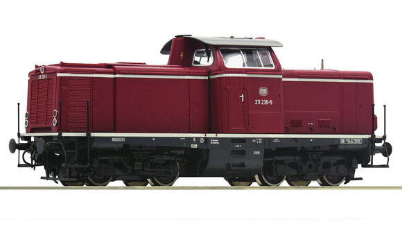 Roco 58527 DB  Diesellokomotive BR 211 ~ AC-Digital-Sound
