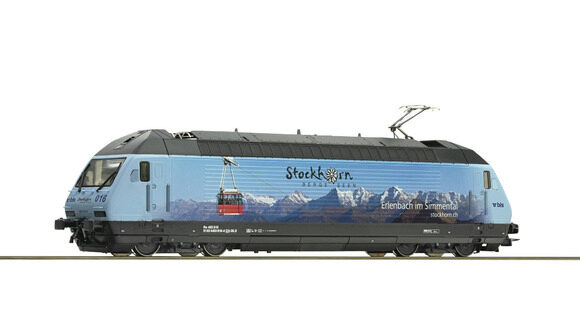 "Roco 73269 SBB  Elektrolokomotive Re 465 016 ""Stockhorn"" DCC-Sound"