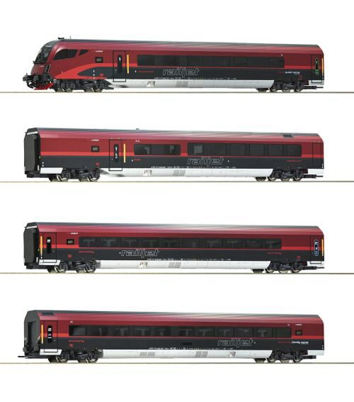 Roco 74084 ÖBB  4-tlg. Set Railjet digital