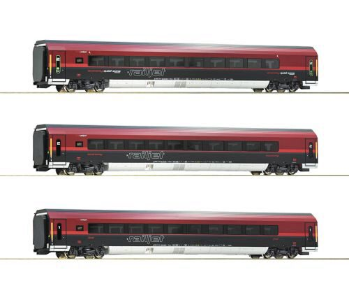 Roco 74086 ÖBB  3-tlg. Set Railjet