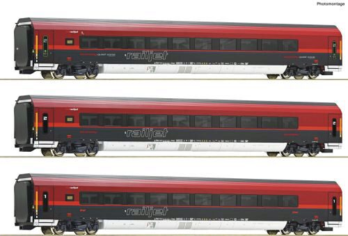Roco 74088 ÖBB  3-tlg. Set Railjet