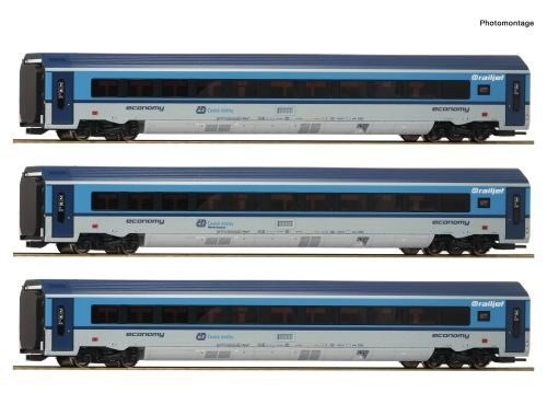 "Roco 74141 CD  3-tlg. Set: ""Railjet"" ~ AC-Digital-Sound"