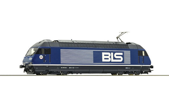 Roco 79288 BLS Elektrolokomotive Re 465  Sound