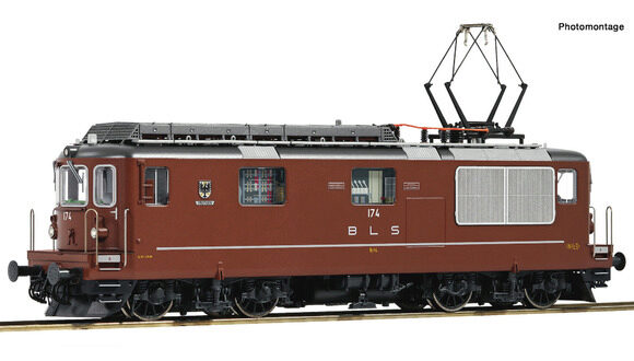 Roco 79819 BLS Elektrolokomotive Re 4/4 No. 174  Frutigen sound