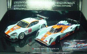 Scalextric C3055A Aston Martin Racing Twinpack