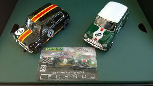 Scalextric C3586A Australian Mini Cooper - Touring Car Legends