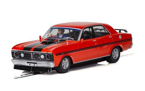 Scalextric C3937 Ford XY Road Car - Candy Apple Red