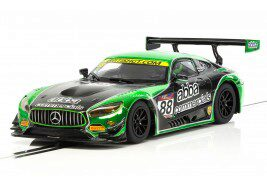 Scalextric C3942 Mercedes AMG GT3 2017 Team ABBA Racing