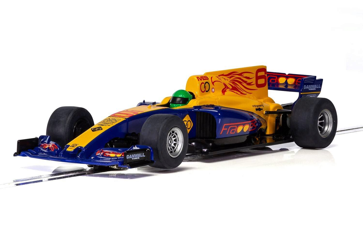 Scalextric C3960 2017 Formula One Car - Blue NEW TOOL