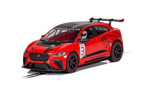 Scalextric C4042 Jaguar I-Pace Red