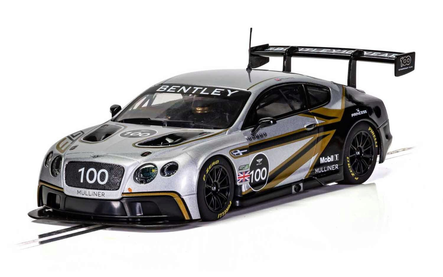 Scalextric C4057A Bentley Continental GT3 - Centenary Edition
