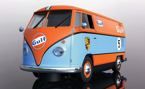 Scalextric C4060 Volkwagen Panel Van - Gulf Edition