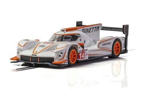 Scalextric C4061 Ginetta G60-LT-P1 No 14 - White & Orange