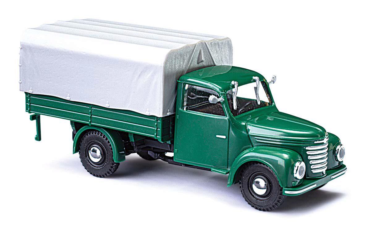 Busch Framo V901//2 Pritsch//Pl grün 52350