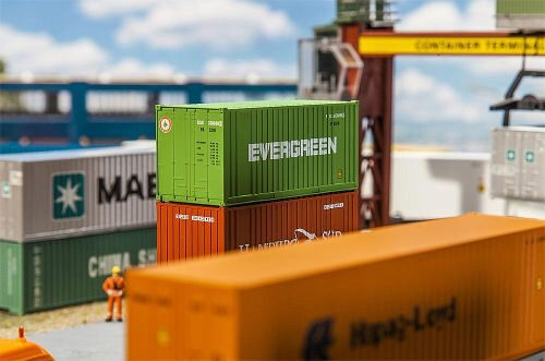 Faller 180821 Container EVERGREEN