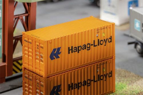 Faller 180826 20 Container Hapag-Lloyd
