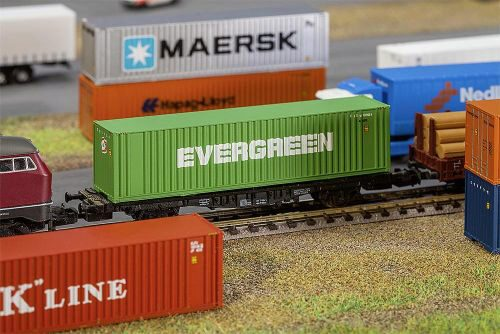 Faller 272843 40 Hi-Cube Container EVERGREEN