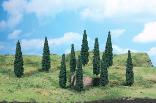 TT Heki 1772 Mimosen 2 Bäume 13 cm H0
