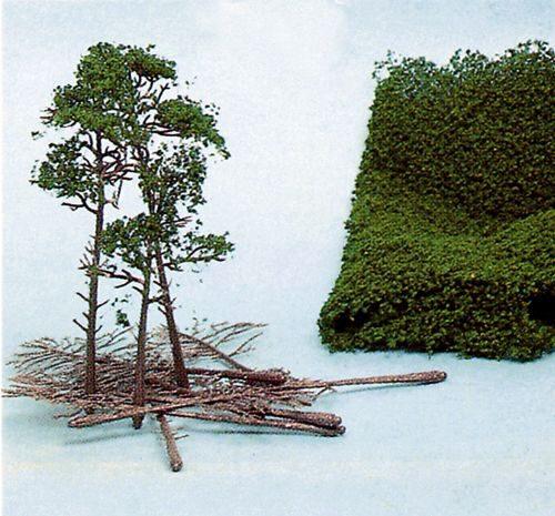 Heki 1992 14 Laubbäume 5-12cm hoch super artline Laubbaum H0 TT N Z Neu
