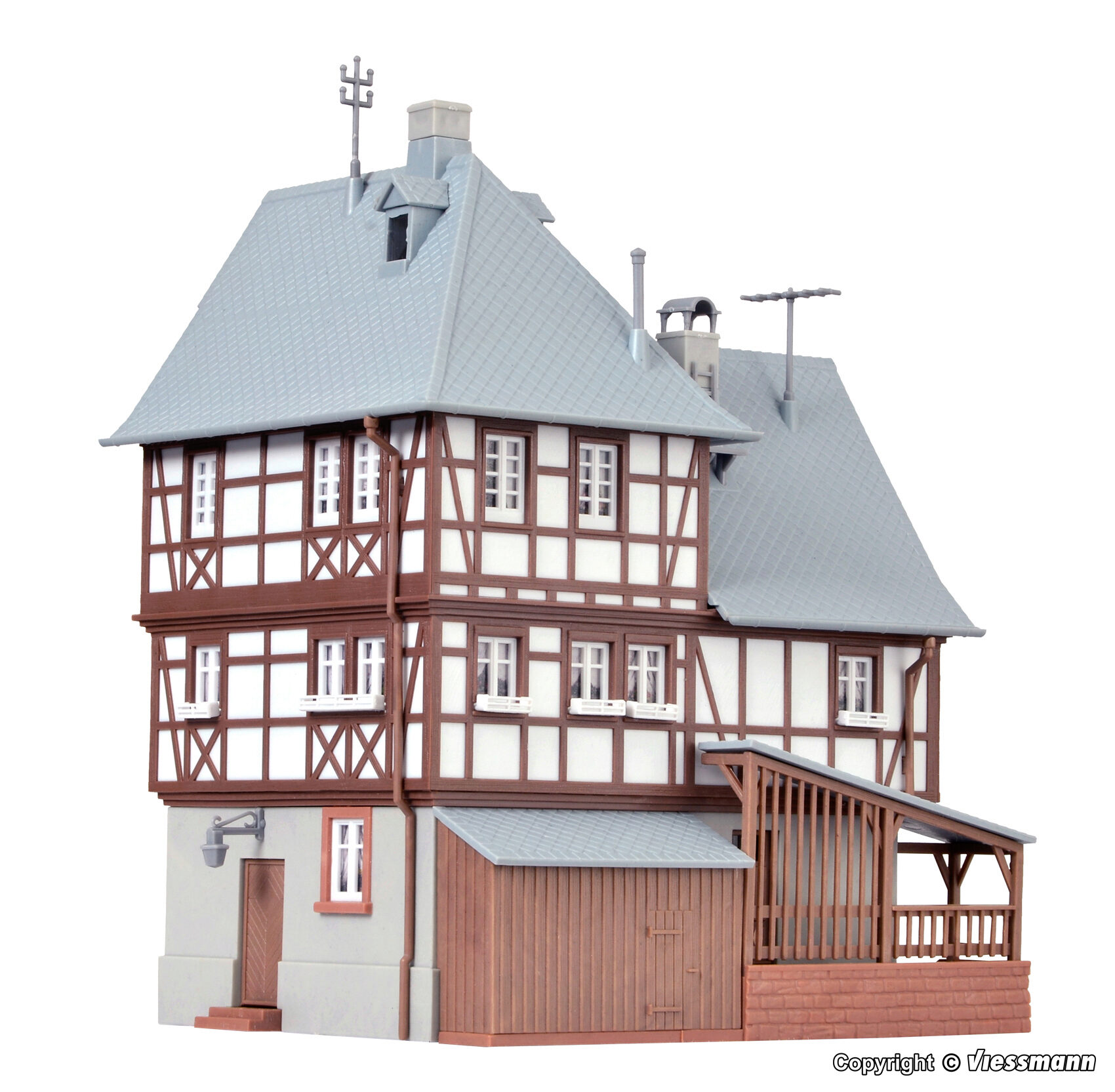 Bausatz Kibri 38901 Torhaus Miltenberg Spur H0