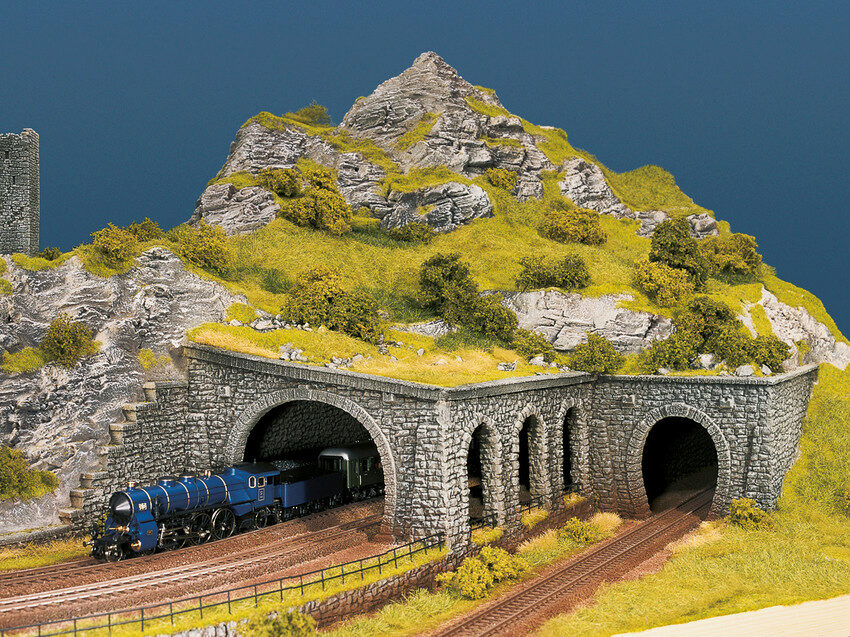 NOCH H0 58247 Tunnel-Portal Bruchstein 1-gleisig