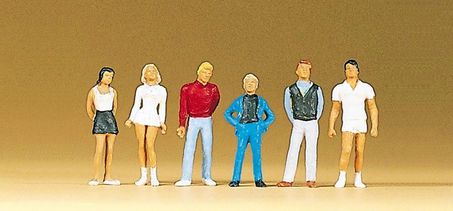 Preiser 10586 H0 Figuren In der Modeboutique