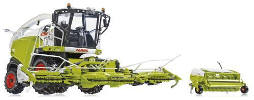 Wiking 77812 Claas Jaguar 860 Feldhäcksler m. Orbis 750 u. Pick up 300