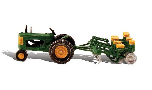 Woodland AS5565 HO Tractor & Planter